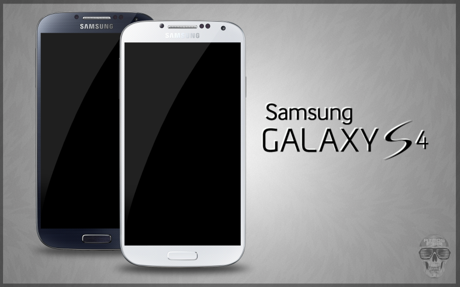 Samsung Galaxy S4 PSD Black & White