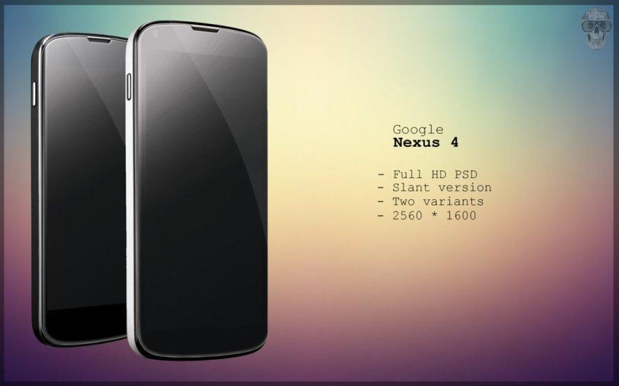 Nexus 4 Slant PSD