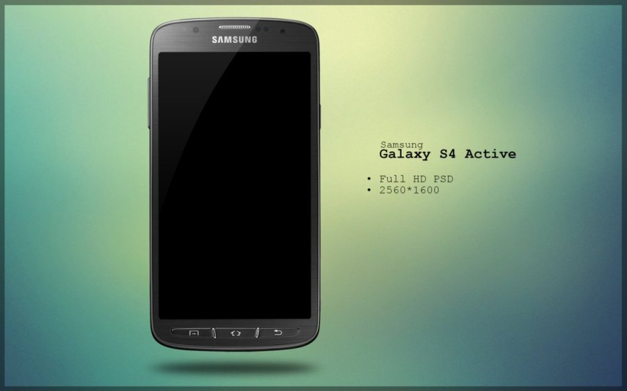 Samsung Galaxy S4 Active PSD