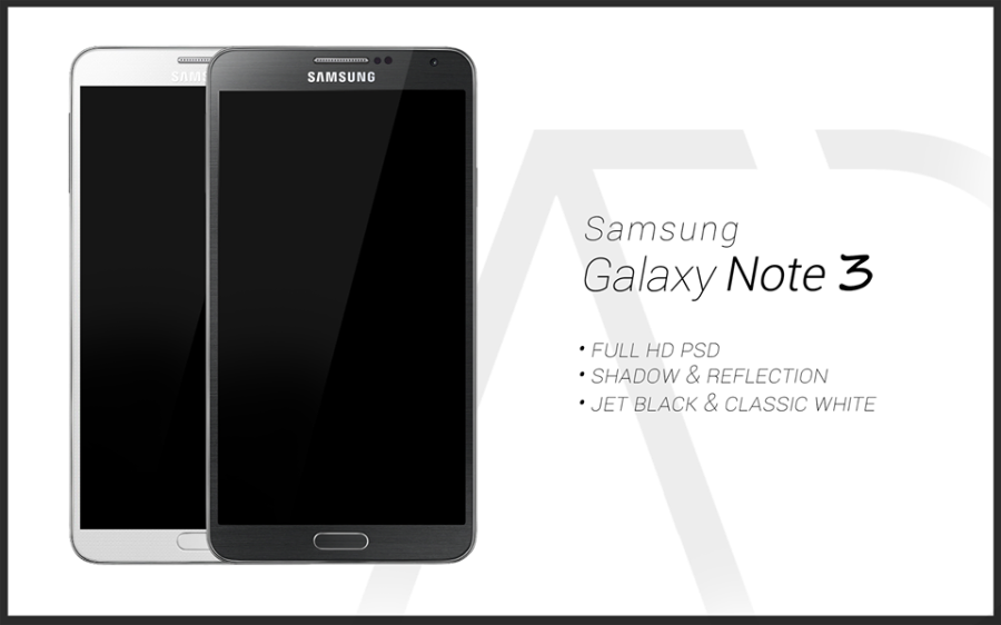Samsung Galaxy Note 3 PSD