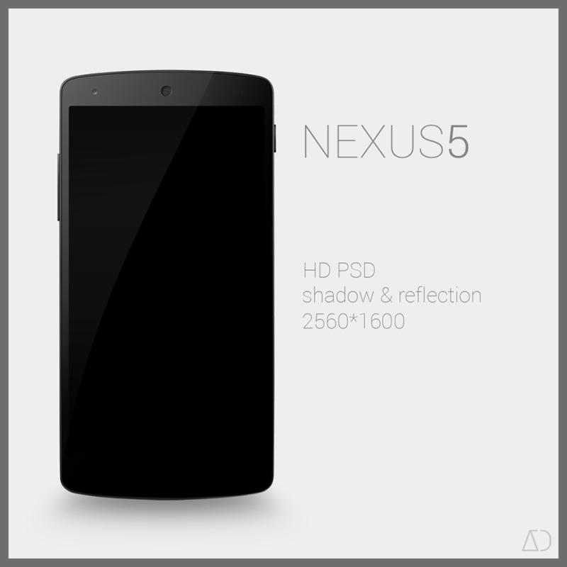 Nexus 5 : PSD