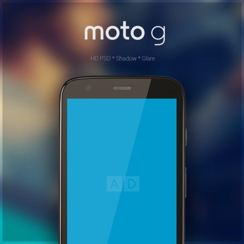Moto G : PSD